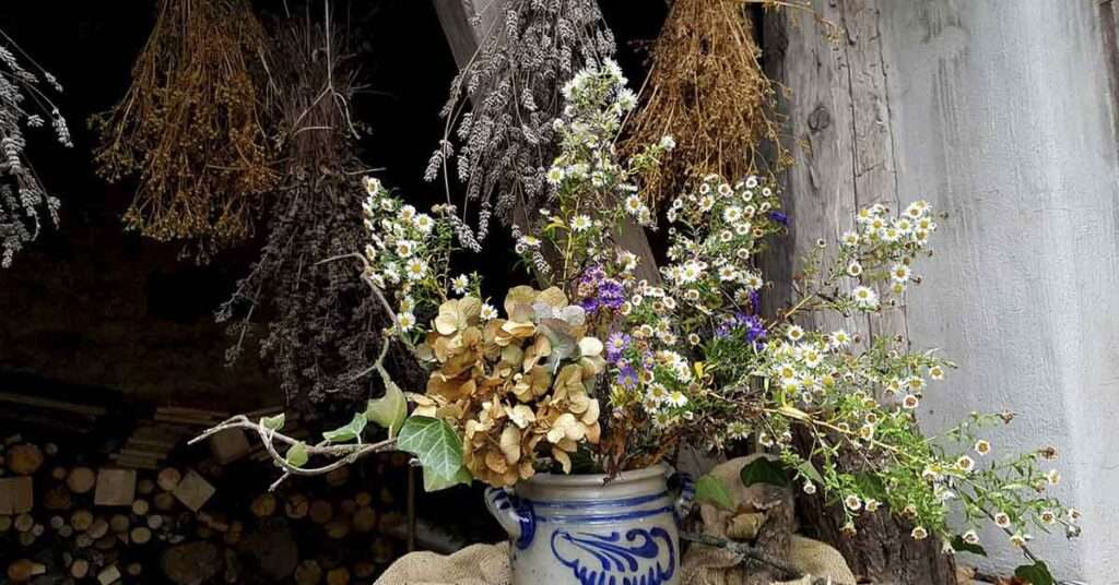 Drying Herbs and Flowers